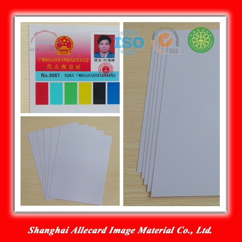 Silver PVC Laser ID Card Making Material