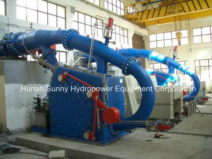 Hydro (Water) Pelton Turbine Generator / Hydropower Turbine / Hydroturbine Generator