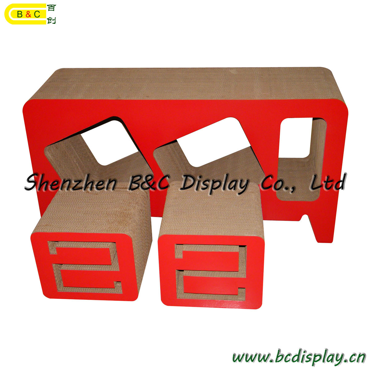 Modern, Eco-Friendly Cardboard Furniture with Free Style (B&C-F017)