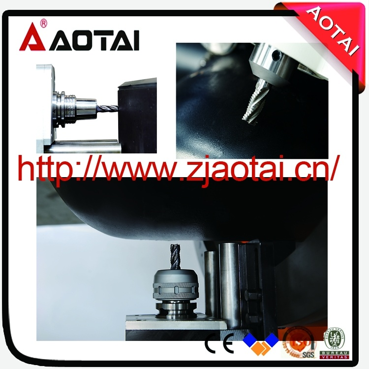 in-Site Machining, Od Mounted Split Frame Pipe Drilling Milling and Cutting Beveling Machine