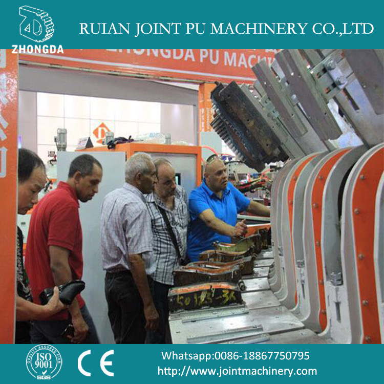 Shoe Sole Making Machine with Automatic Rotary Production Line