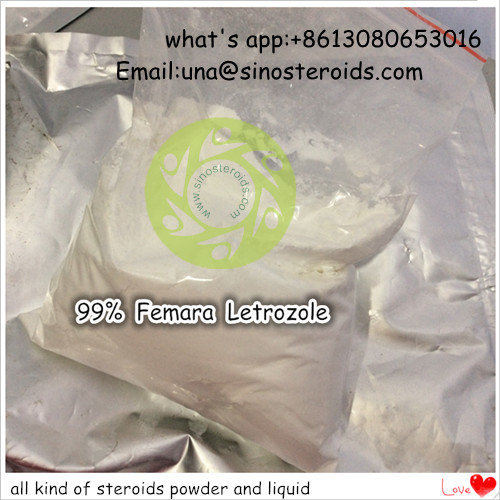 99% High Purity Steroids Femara for Bodybuilding (CAS: 112809-51-5)