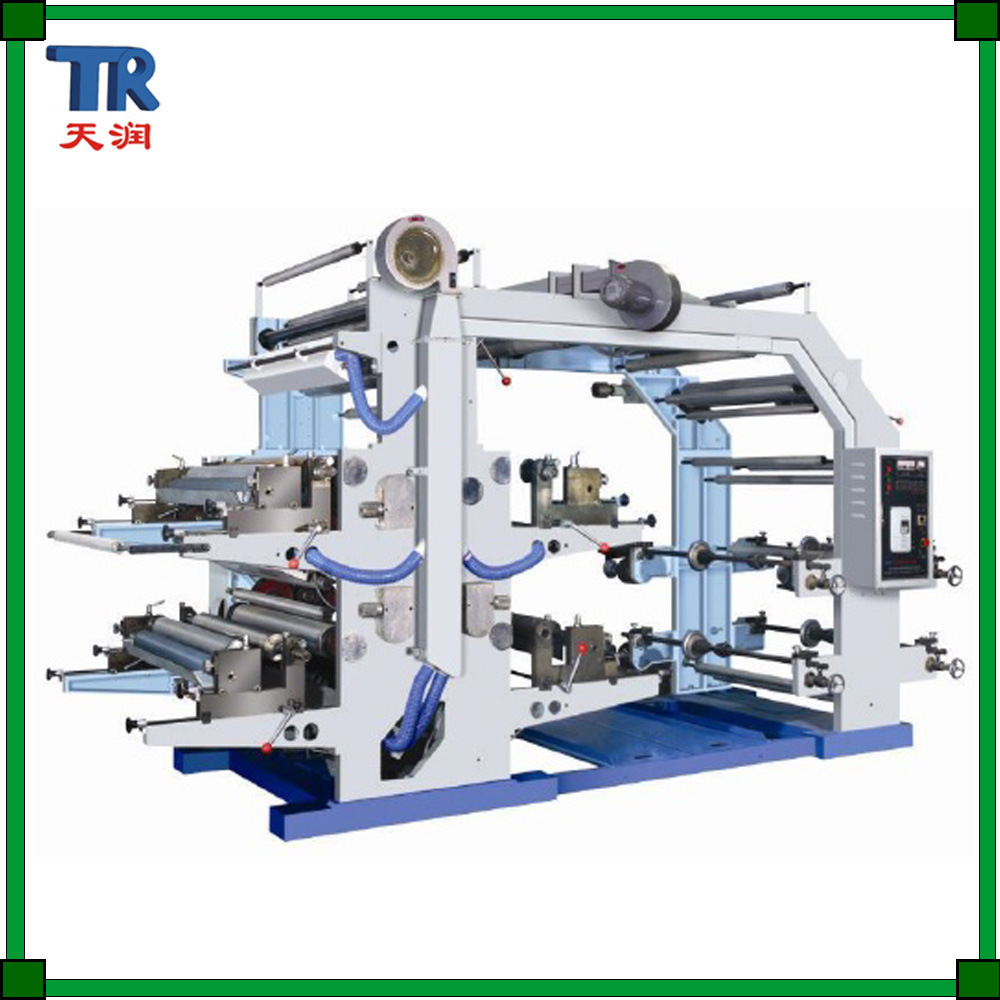 4 Colors Flexographic Printing Machine