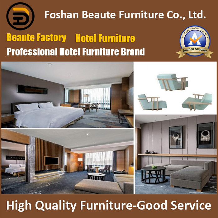 Hotel Furniture/Luxury King Size Hotel Bedroom Furniture/Restaurant Furniture/King Size Hospitality Guest Room Furniture (GLB-0109807)