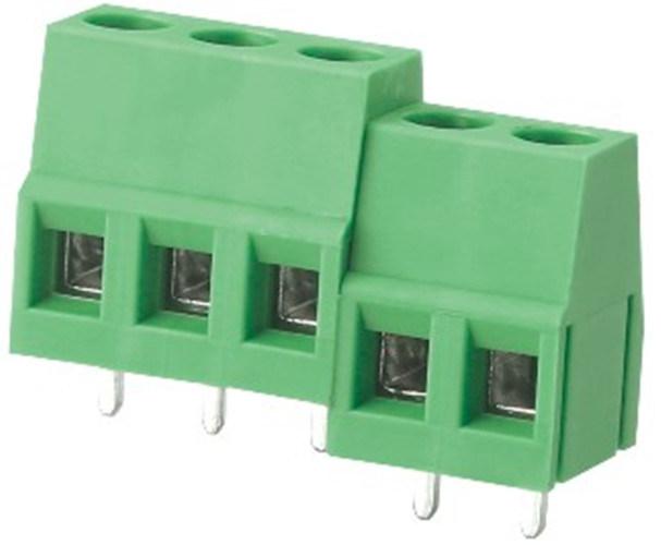 5.0mm Pitch PCB Screw Terminal Block for PCB Board (WJ128-5.0)