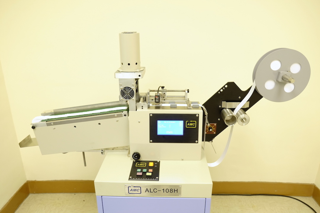 Alc-108hb Belt High Speed Ultrasonic Label Cutter Machine