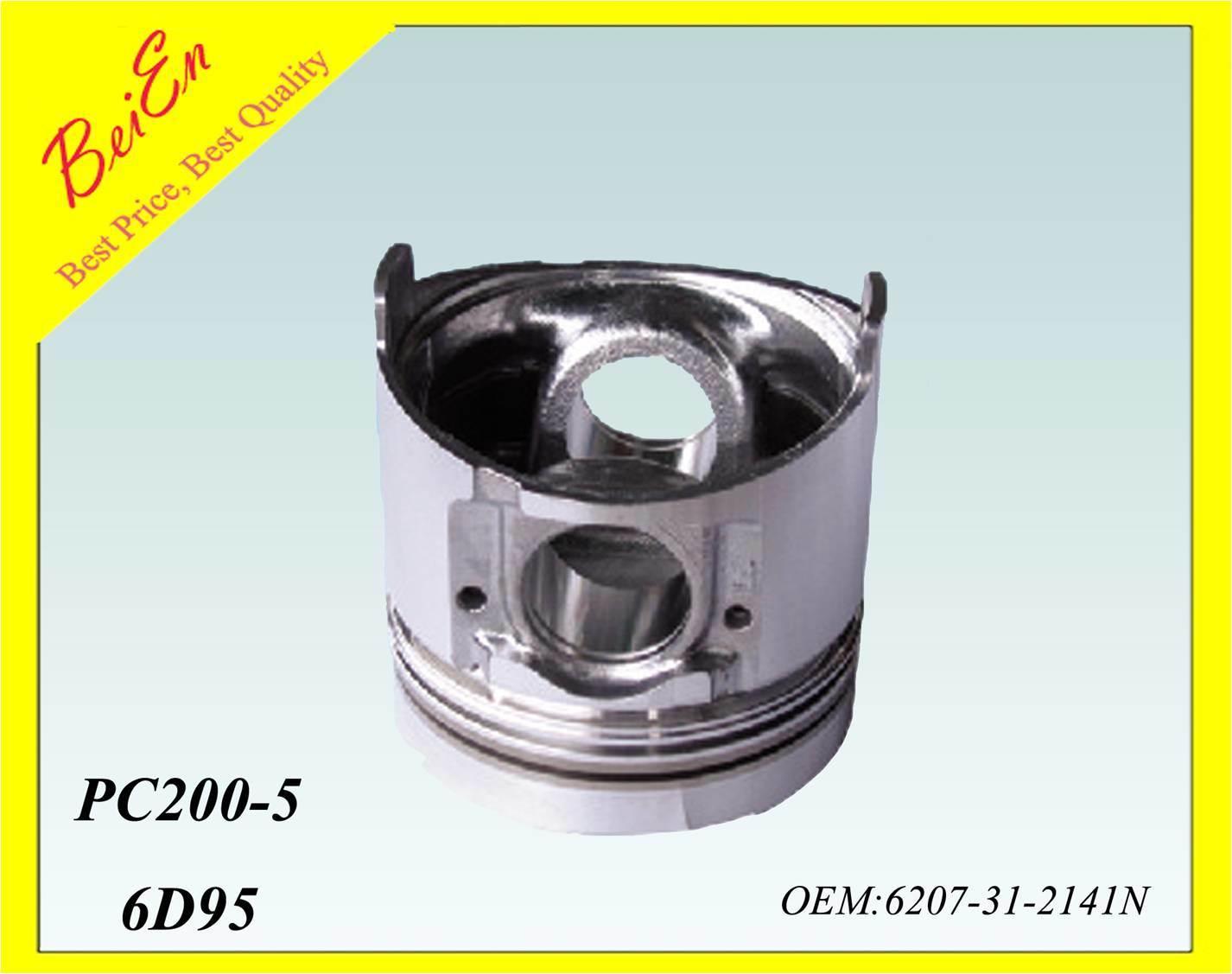 Piston for Excavator Engine PC200-5 (Part number: 6207-31-2141N)