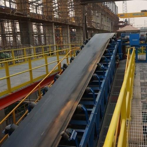 Heavy Duty Overland Industrial Chemical Belt Conveyor
