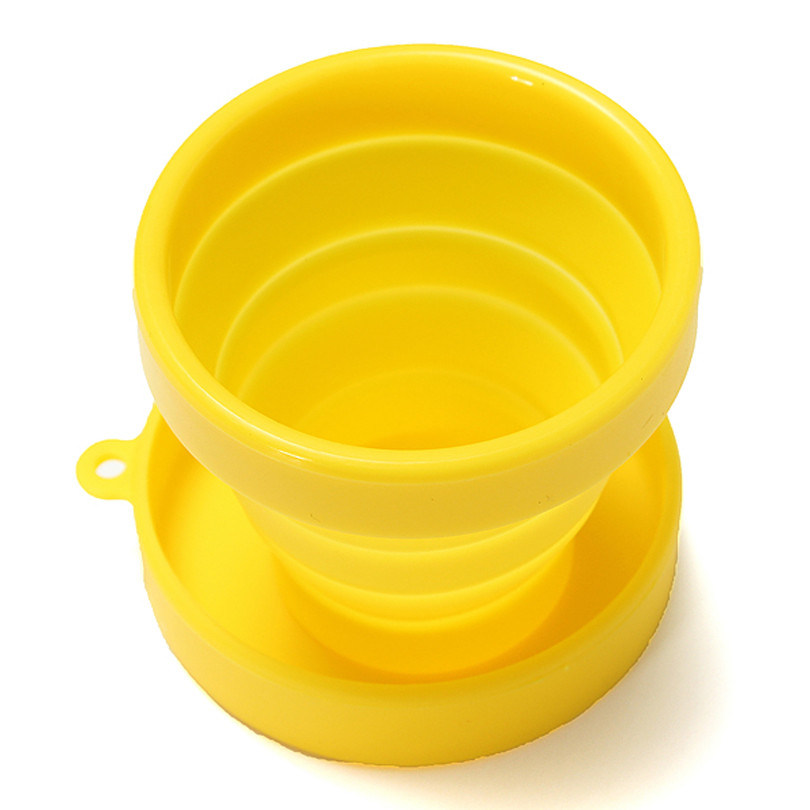 Candy Color Eco Friendly Food-Grade Silicone Folding Cup