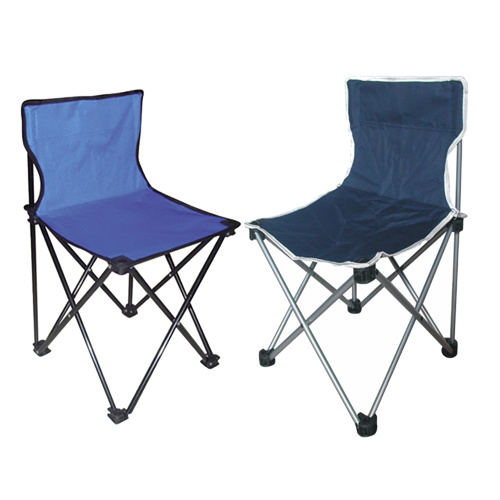China Customized Printing Armless Folding Chair For
