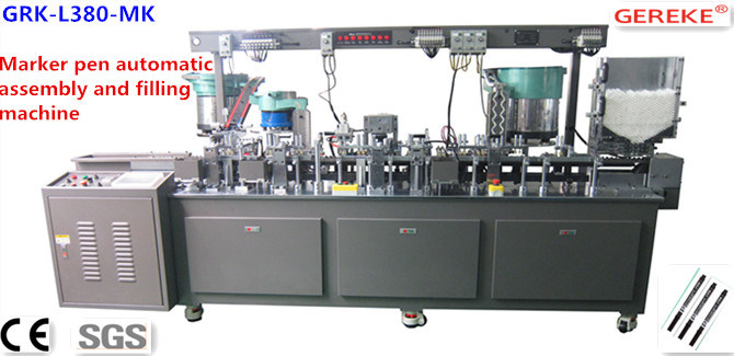 Marker Pen Automatic Assembly and Filling Machine with CE Certificate