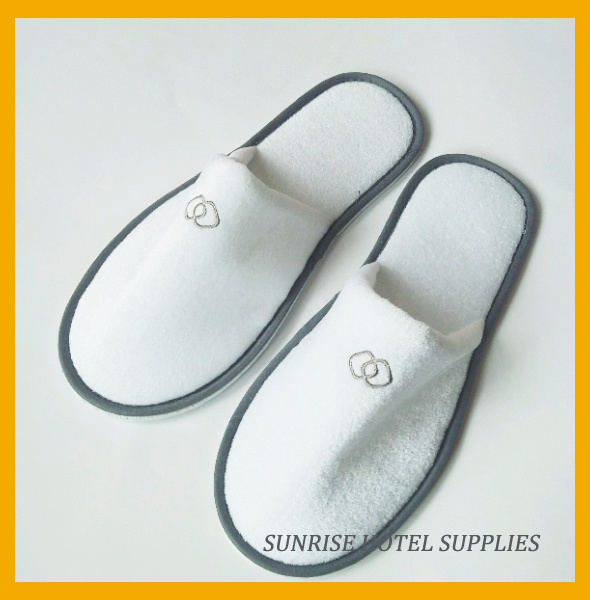 5 Star Luxury Hotel Cotton Waffle Slippers