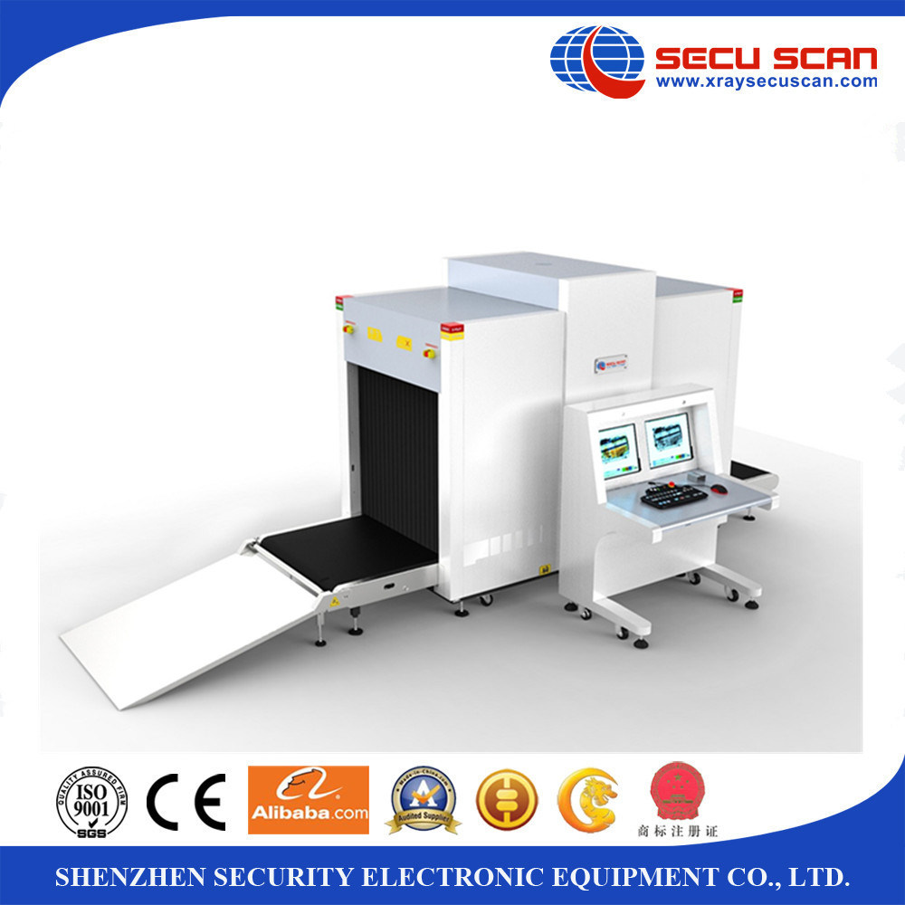 Big size X ray baggage scanner AT10080 for logistics security check luggage scanner