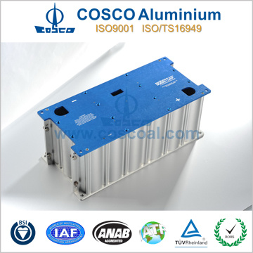 SGS Approved Aluminum Profile Extrusion for Electronics Enclosure with ISO9001 Certificated