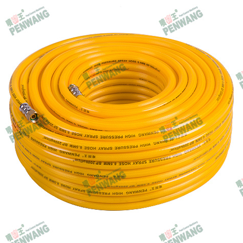 Double Fiber High Pressure Braided Hose (PW-1007)
