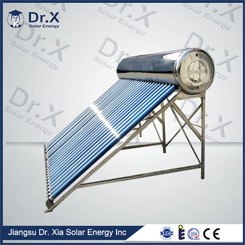 Compact Pressurized Heat Pipe Solar Water Heater