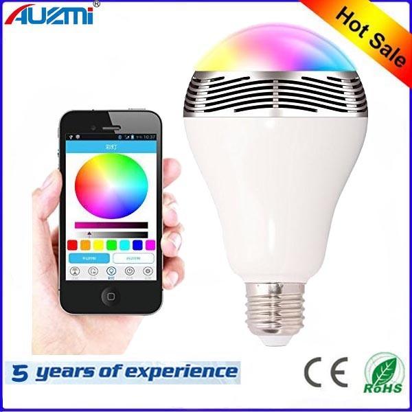 Colorful Bulb LED Light Bluetooth Speaker