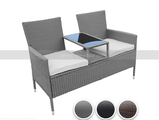 Resin Wicker Outdoor Rattan Furniture Kd Style Chair Set (MTC-237)