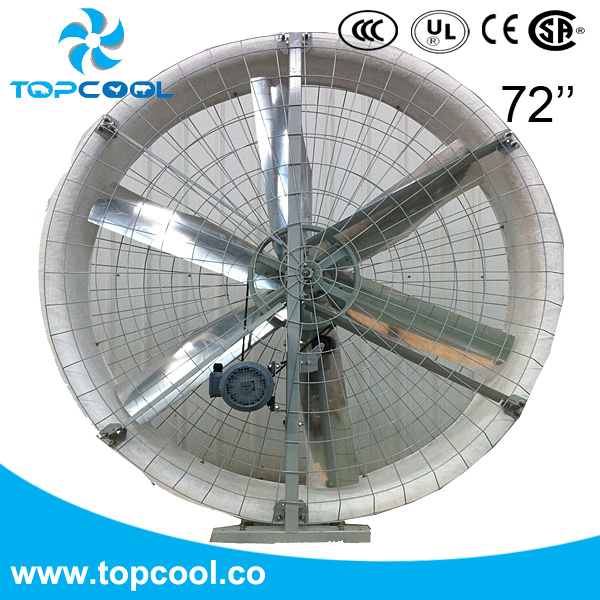 "72"" Fiber Glass Reinforced Ventilation Blast Fan with Amca and Bess Lab Test"