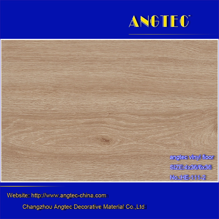 6*36inch 2.0mm Waterproof PVC Wood Design Vinyl Plank Flooring