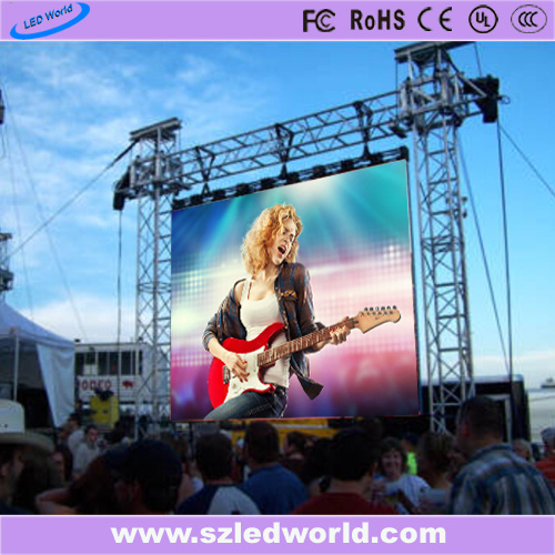 P10 Outdoor Rental Full Color Die-Casting LED Billboard Display Screen China Factory