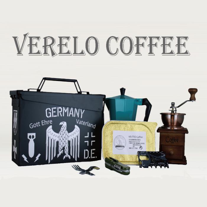 Ammo Can, Coffee Box, Coffee Can