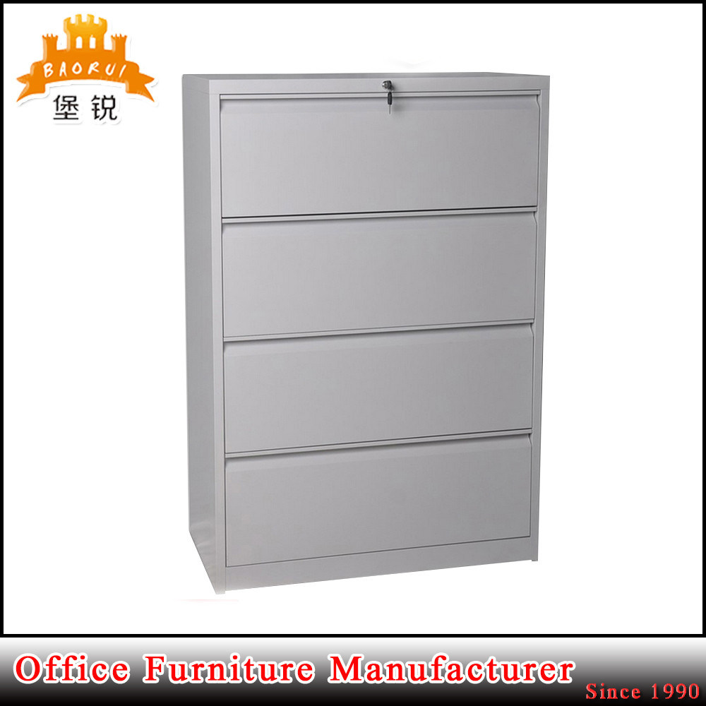 Kd Furniture 4 Drawers Vertical Cupboard Metal Office Filing Cabinet