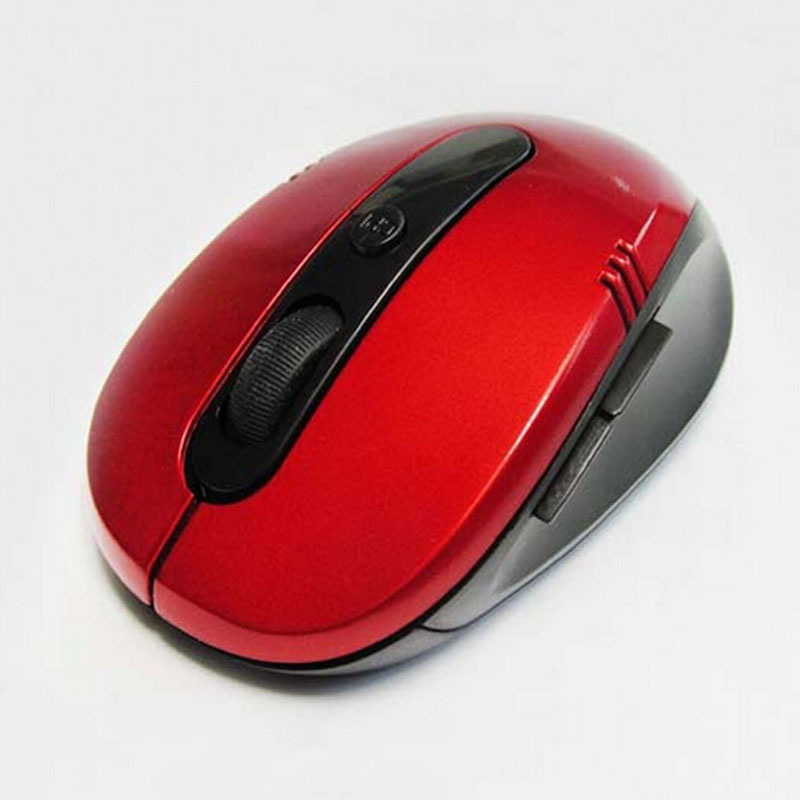 Blu-Ray Photoelectric 2.4G Optical Computer Wireless Mouse Support OEM Logo