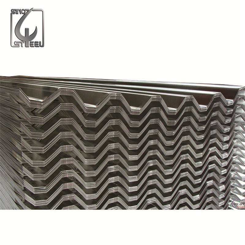 Dx51d Construction Galvanized Corrugated Steel Roofing Sheet