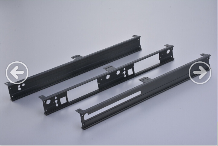 Customized Aluminium Extrusion with CNC Machining & Colors Anodizing