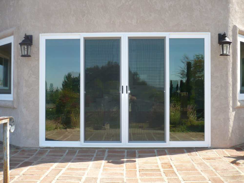 China manufacturer cheap price aluminum frame stacker door for 4 sliding glass door