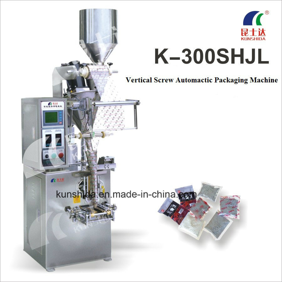 Vertical Auger Powder Packing Machine with Three-Sides Sealing