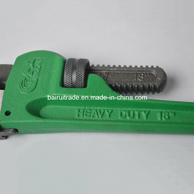 8 Inch American Type Heavy Duty Pipe Wrench for Export