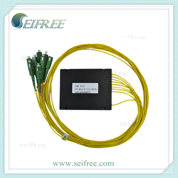 1X8 Fiber Optic ABS Box PLC Splitter (CATV PON FTTH)