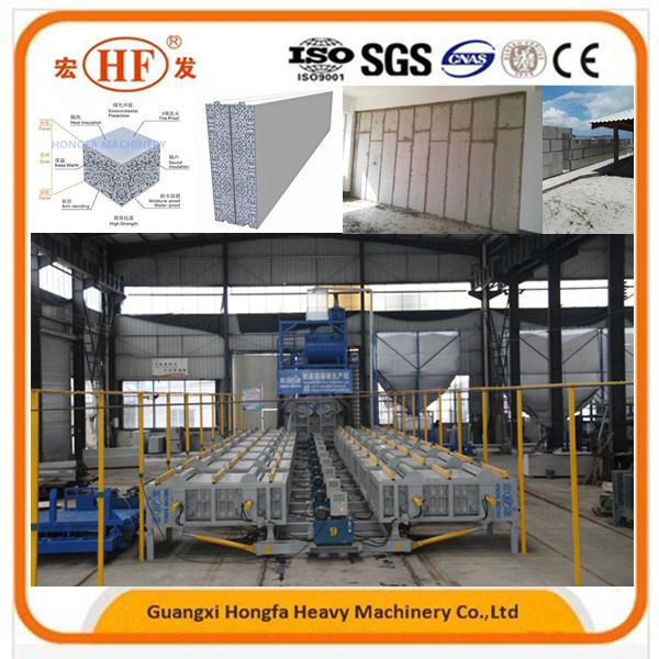 EPS Dry Wall Easy Panel Making Machine Concrete Paver Brick Making Machine
