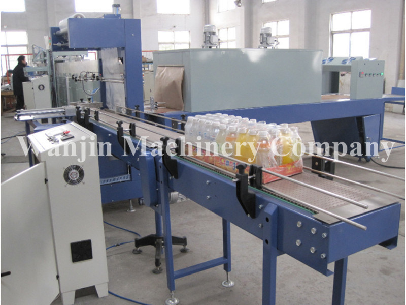 Full Automatic PE Film Packing Wrapping Machine