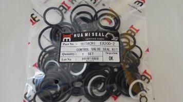 Hitachi, Digger Grab Control Valve Seal Kit. Zax200