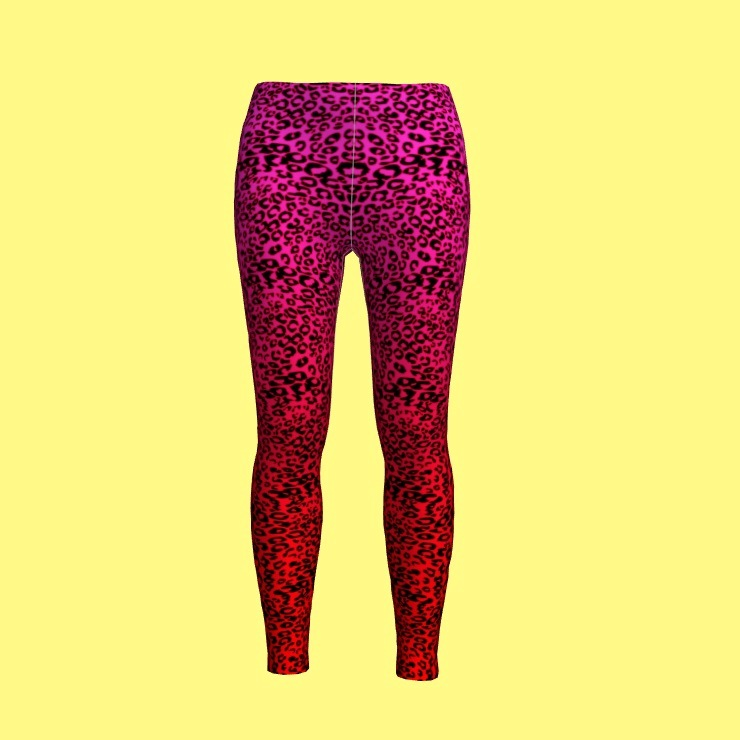 Sublimation Fashion Women Leggings