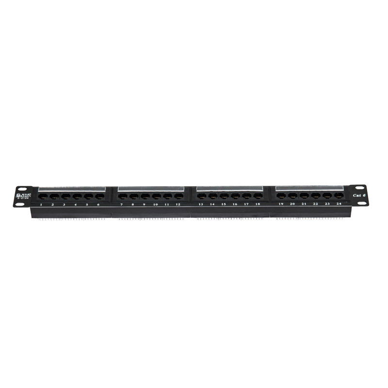 24 Ports Patch Panel for Cat5e Cable