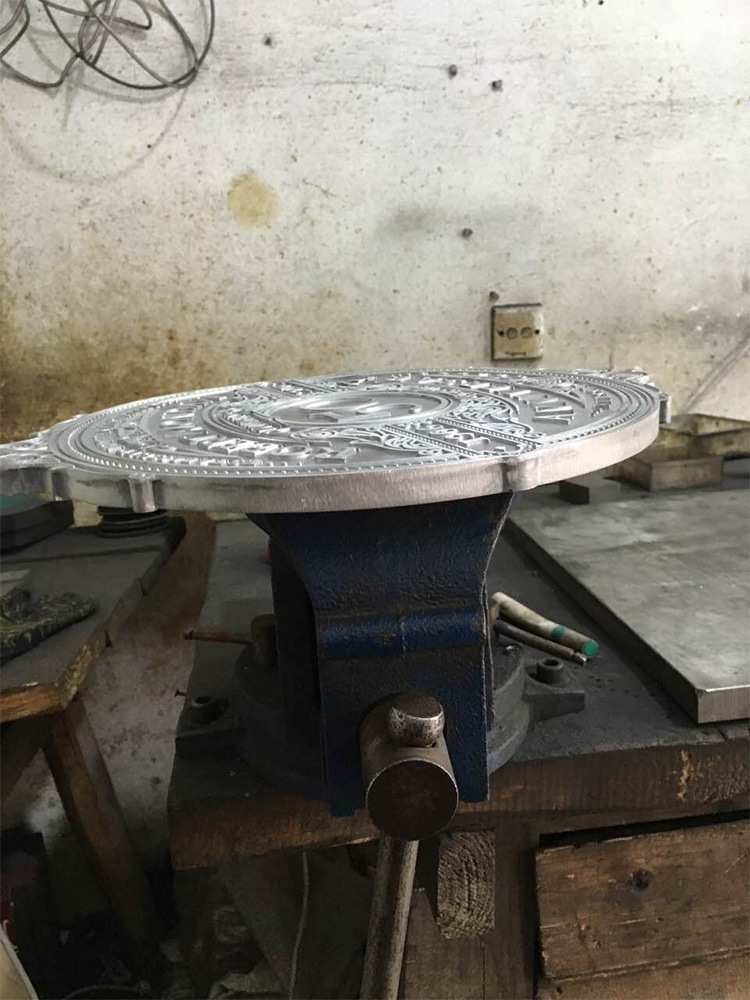 Metal Casting Plate