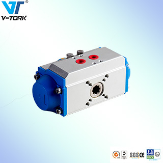 Pneumatic Actuator with Hand Wheel and Limit Switch