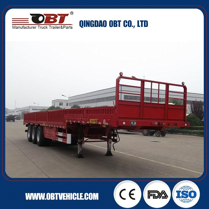 Bulk Cargo Transport Sidewall Semi Trailer