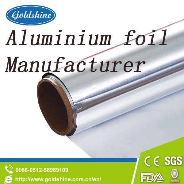 China Top Manufacturer 8011 Bulk Aluminum Foil