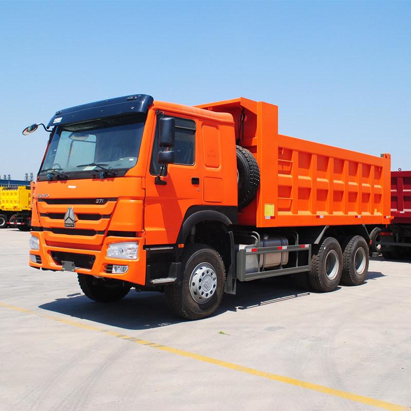 HOWO 6X4 Dump Truck with Berth (ZZ3257N3647B)