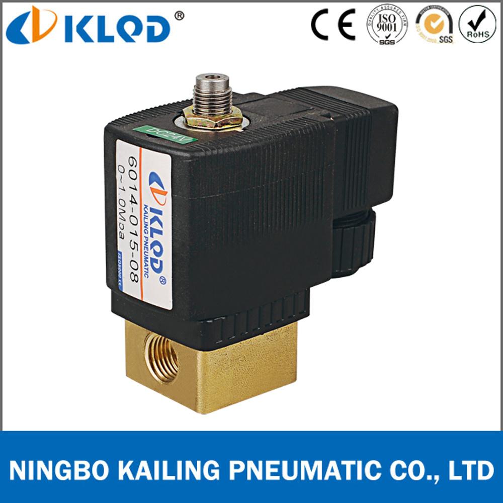 3/2 Way Direct Acting High Temperature Solenoid Valve Kl6014 Series