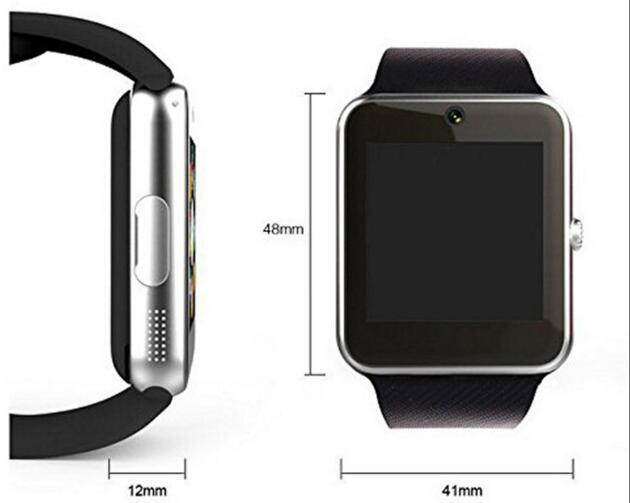 Hot Selling Gt08 Bluetooth NFC Smart Watch with SIM Card
