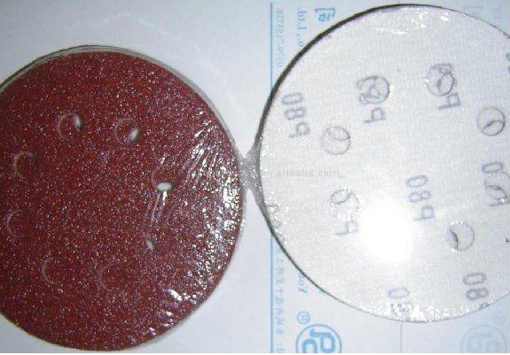 Wood Grinding Aluminum Oxide Magic Tape Disc A-D
