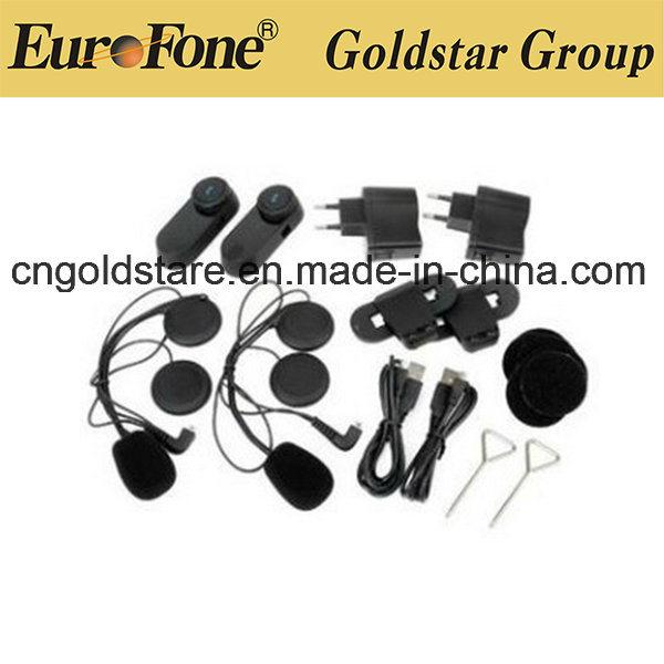 Motorcycle Fdc-02vb Helmet Wireless FM Bluetooth Interphone Headset