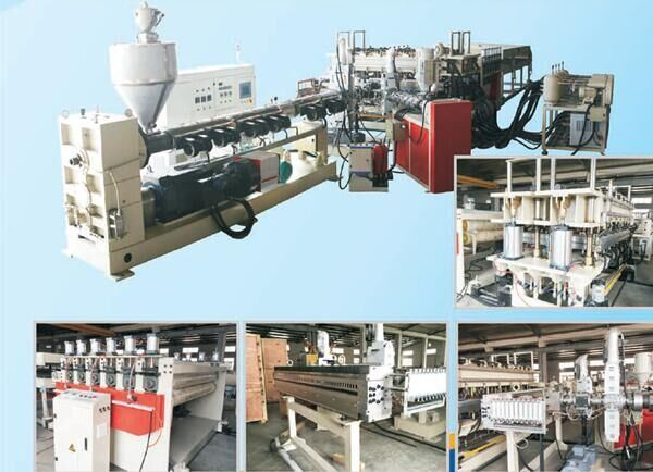 PC/PP Hollow Plate Extrusion Line