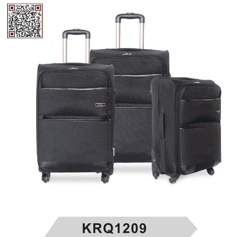 1200d Polyester Soft Travel Trolley Luggage (KRQ1209)
